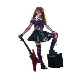 Disfraz de Rockera Zombie Infantil