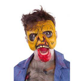 Media Mascara de Zombie Atacando