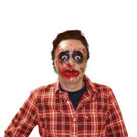 Máscara Transparente de Zombie para Hombre