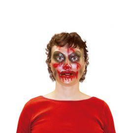 Maschera Trasparente da Zombie Donna