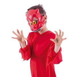 Media Máscara de Diablillo Infantil