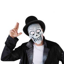 Máscara Esqueleto Loco Adulto