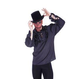 Máscara de Calabaza de Tela Halloween