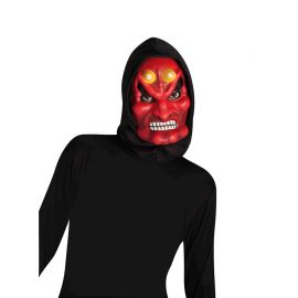 Máscara Demonio Encapuchado