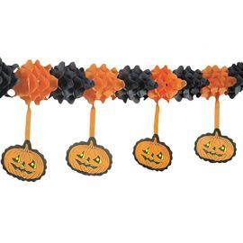 Festone con Zucche Pendenti Halloween