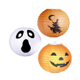 Farol de Halloween Bruja, Fantasma o Calabaza