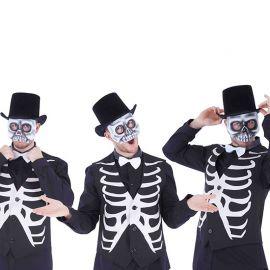 Media Máscara de Esqueleto Surtida