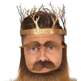 Corona Metallica da Re Medievale di Oro