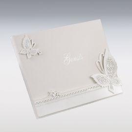 Libro per Firme Farfalla 23 cm x19 cm