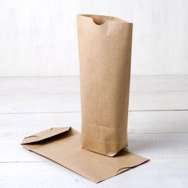 Pack di 50 Sacchetti di Carta Kraft 12 cm x 22,5 cm x 5 cm