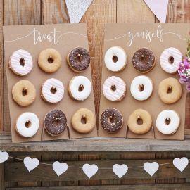 2 Pareti di Donuts Rustiche