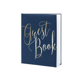 Libro delle Firme con Guest Book Dorato