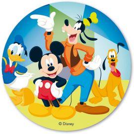 Cialda di Mickey Mouse & Co 20 cm