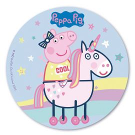 Cialda Peppa Pig 20 cm