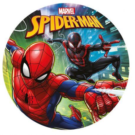 Cialda Commestibile di Spider Man 20 cm