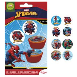 Mini Cialda Spiderman 3,4 cm
