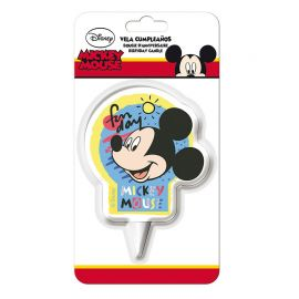 Candelina di Compleanno Mickey Mouse 2D