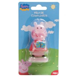 Candela Peppa Pig 7,5 cm
