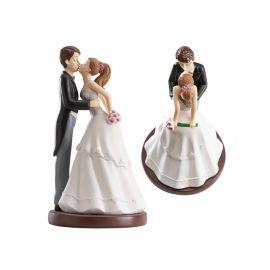 Statuetta Sposi che si Baciano 16 cm