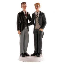 Statuina Sposi Gay 20 cm