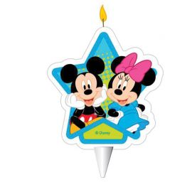 Candelina Topolino & Minnie Mouse 2D