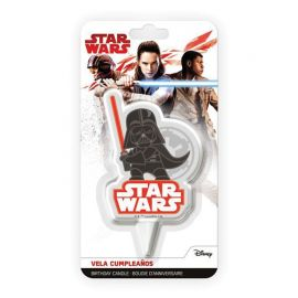 Candela di Compleanno Darth Vader 7,5 cm 2D