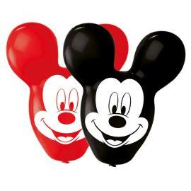 4 Palloncini a Forma Di Mickey Mouse 55,8 cm