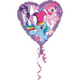 Palloncino My Little Pony a Forma di Cuore Foil