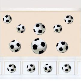 12 Ritagli Palla da Calcio