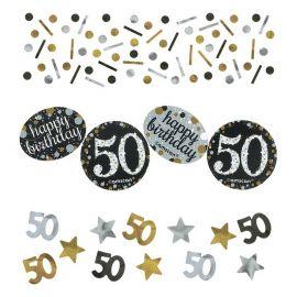 Coriandoli Elegant Festeggiamenti 50 Anni