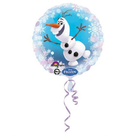 Palloncino Frozen Olaf Foil Rotondo