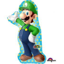 Palloncino a Forma Luigi Super Mario 50 cm x 96 cm