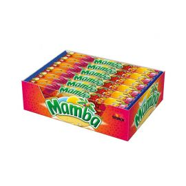 Caramelle Morbide Mamba alla Frutta 24 Pacchetti