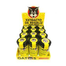 Estratto di liquirizia Gatos 12 pacchetti