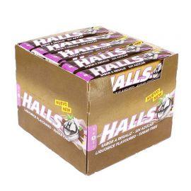 Caramelle Halls alla Liquirizia Senza Zucchero 20 pacchetti