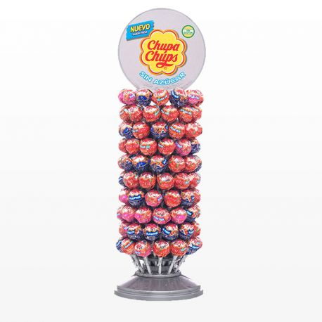 Chupa Chups Ruota Senza Zucchero 120 Unità