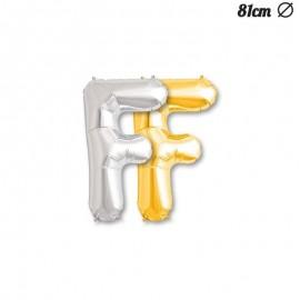 Palloncino Lettera F Foil 81 cm