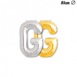 Palloncino Lettera G Foil 81 cm