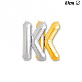 Palloncino Lettera K Foil 81 cm