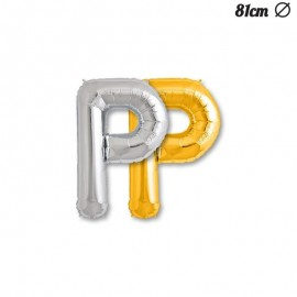 Palloncino Lettera P Foil 81 cm