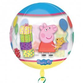 Palloncino Peppa Pig Sferico 38 cm x 40 cm