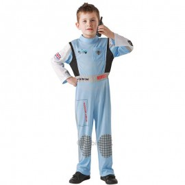 Costume Cars 2 Finn McMissile Bambino