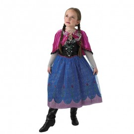 Costume di Anna Frozen con Musica Bambina