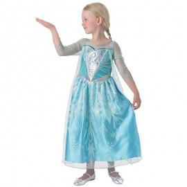 Costume di Elsa con Mantello Bambina