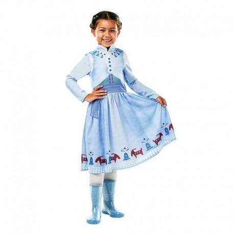 Costume da Anna di Frozen d'Inverno per Bambina