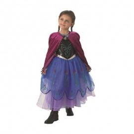 Costume da Anna di Frozen con Mantello Lungo