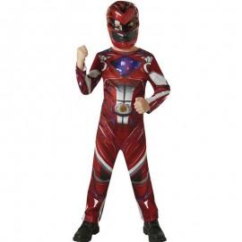 Costume da Power Ranger Rosso Classico per Bimbo