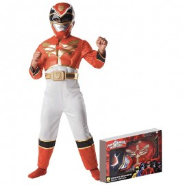 Costume da Power Ranger Muscoloso in Scatola per Bimbo