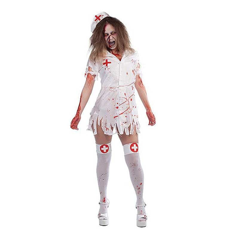 Girls Covered In Blood