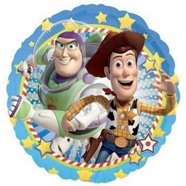 Palloncino Rotondo in Foil Toy Story